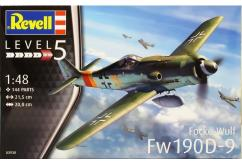 Revell 1/48 Fockewulf FW190 D-9 image