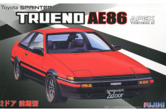 Fujimi 1/24 Toyota AE86 Trueno 2 Door GT APEX - Early Production image