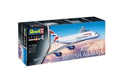 Revell 1/144 Airbus A380-800 British Airways image