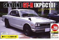 Fujimi 1/24 KPGC10 Skyline GT-R 2 Door 1971 w/Car Name Plate image