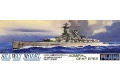 Fujimi 1/700 German Pocket Battleship Admiral Graff Spee image