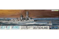 Fujimi 1/700 Waterline Series German Battleship 'Deutschland' image