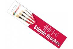 Humbrol Stipple Brush Set image