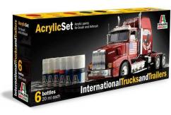 Italeri International Truck & Trailer Paint Set image