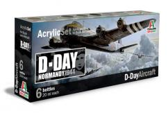 Italeri D-Day Aircraft Paint Set image