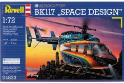 Revell 1/72 Eurocopter BK117 Space Design Kit image