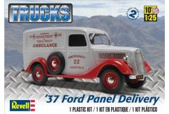 Revell 1/25 Ford Panel Delivery Van image