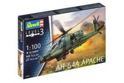 Revell 1/100 AH-64A Apache image