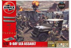 Airfix 1/72 75th Anniversary D-Day Sea Assault Gift Set image