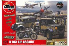 Airfix 1/72 75th Anniversary D-Day Air Assault Gift Set image