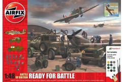 Airfix 1/48 Battle of Britain - Ready for Battle Gift Set image