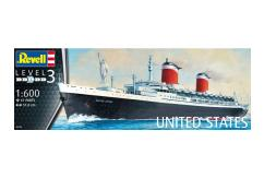 Revell 1/600 SS United States image