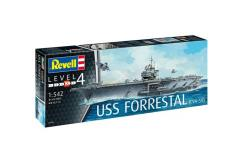 Revell 1/542 USS Aircraft Super-Carrier Forrestal image