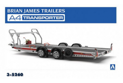 Aoshima 1/24 Brian James A4 Transport Trailer image