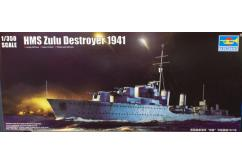Trumpeter 1/350 Zulu Destroyer 1941 image