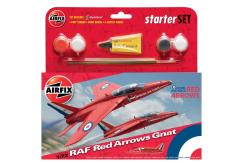 Airfix 1/72 Red Arrow Gnat image