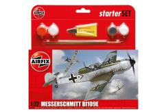 Airfix 1/72 Messerschmitt Bf109E-3 Model Set image
