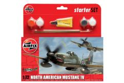 Airfix 1/72 North American Mustang Model Set image