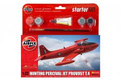 Airfix 1/72 Small Starter Set Hunting Percival Jet image