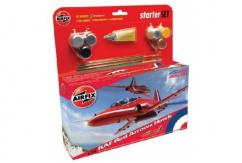 Airfix 1/72 RAF Red Arrows Hawk - Starter Set image