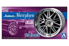 "Aoshima 1/24 Rims & Tires - Kranze Borphes 19"" image"