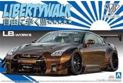 Aoshima 1/24 Liberty Works R35 GT-R Type-2 Version 1 image