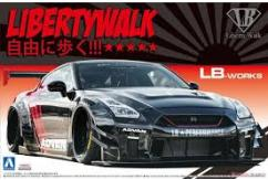 Aoshima 1/24 Liberty Works R35 GT-R Type-2 Version 2 image