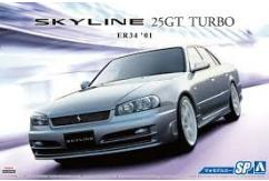 Aoshima 1/24 ER34 Skyline 25 GT Turbo Custom '01 image