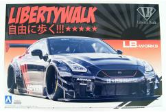 Aoshima 1/24 Liberty Walk R35 GT-R Type 2 Version 2 image