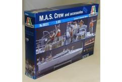 Italeri 1/35 M.A.S. Crew and Accessories image