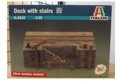 Italeri 1/35 Dock With Stairs image