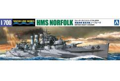 Aoshima 1/700 HMS British Heavy Cruiser Norfolk image