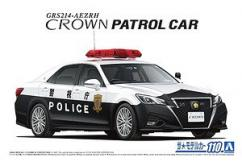 Aoshima 1/24 Toyota Crown Traffic Control image