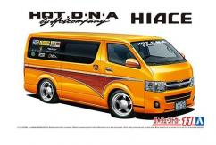 Aoshima 1/24 Hiace Van Hot DNA image