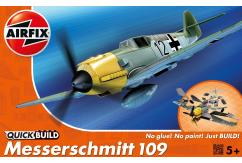 Airfix 1/72 Me109E Messerschmitt Quickbuild Set image