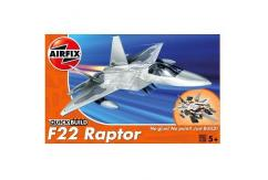 Airfix 1/72 F22 Raptor Quickbuild Set image