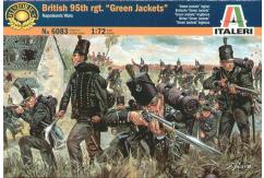 "Italeri 1/72 British 95th Rgm ""Green Jackets"" Napoleonic Wars image"