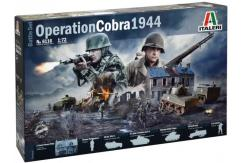Italeri 1/72 Operation Cobra WWII Battle Set image
