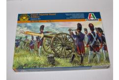 Italeri 1/72 French Imperial Guard Artillery - Napoleonic Wars image