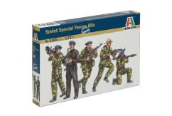 Italeri 1/72 Soviet Special Forces 80s image