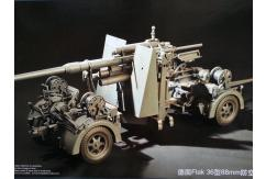 Merit Models 1/18 German Flak 36 88mm Anti-Aircraft Gun image