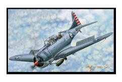 Merit Models 1/18 SBS-3/4 Dauntless image