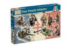 Italeri 1/72 Free French Infantry WWII image