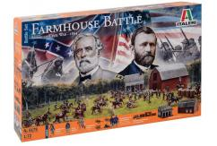 Italeri 1/72 American Civil War 1864 - Farmhouse Battle image