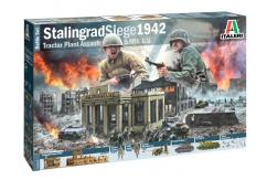Italeri 1/72 Stalingrad Factory Battle Set image