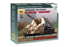 Zvezda 1/100 German Heavy Tank Destroyer SO.KFZ.186 'Jagdtiger' image