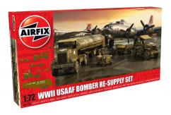 Airfix 1/72 WWII USAAF Bomber Re-Supply Set image