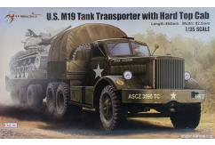 Merit Models 1/35 US M19 Tank Transporter w/Hard Top Cab image