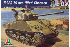 "Italeri 1/35 M4A2 76mm ""Wet"" Sherman image"