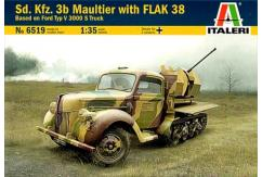 Italeri 1/35 Ford Typ V 3000 S Truck with Flak 38 image